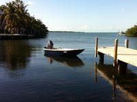 Beautiful  Cottage in Islamorada on canal front! Wifi, HDTV and No Stairs!