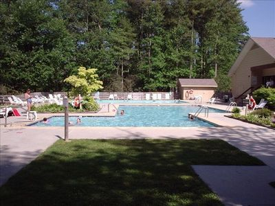 Outdoor & Heated Indoor Pools at Sapphire Valley Included!