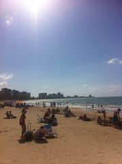 Isla Verde apartment photo - Beautiful Isla Verde beach- walking distance from the apartment
