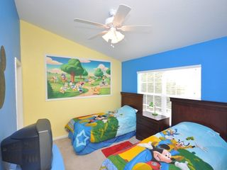 Windsor Hills townhome photo - Disney-Themed Kids' Room