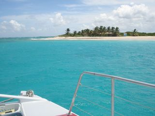 Orient Bay studio photo - Catamaran Day Trip To Prickly Pear Island.