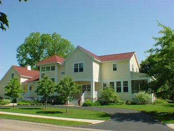 Saugatuck / Douglas house rental - Exterior view - 3 levels, 4500 square feet