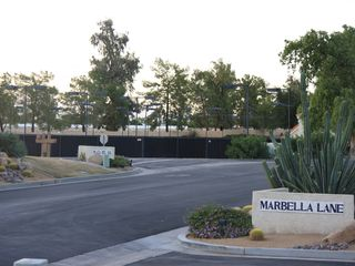 Tennis courts across the street - Palm Desert condo vacation rental photo