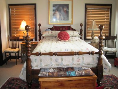 Highlands house rental - Master Bedroom