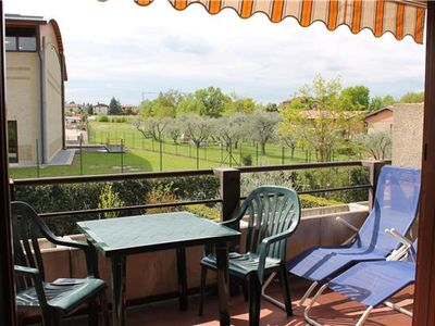 Apartment for 4 people, with swimming pool, close to the beach in Lazise