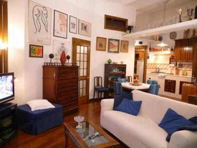Elegant fully furnished apartment in the heart of Rome, Trastevere