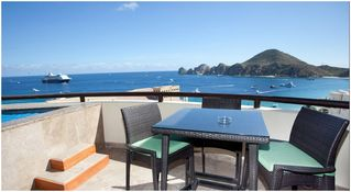 Cabo San Lucas condo photo - Private Terrace with Jacuzzi and Wet Bar