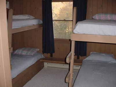 Stratton Mountain chalet rental - One of Two Bunkrooms