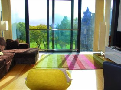 Large Living Room (with wonderful views and sliding glass door lovely in summer