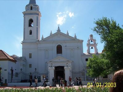 Recoleta apartment rental - THE BEAUTIFUL OUR LADY OF PILAR CHUCH ALONG SIDE THE RECOLETA MEMORIAL