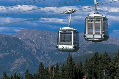 The Gondola runs during the summer