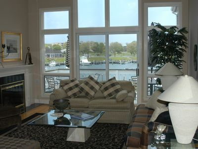 Falmouth condo rental - Living Room