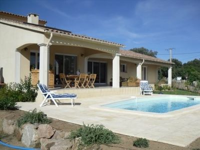 Spacious villa with private pool and air conditioning