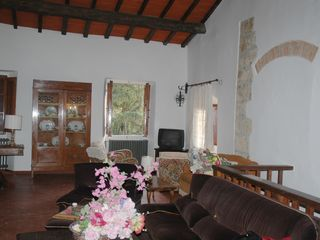 Fiesole villa photo - Dante living room