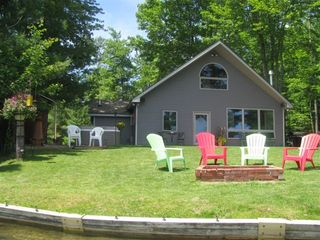Interlochen cottage photo - Beautiful clear view of the lake