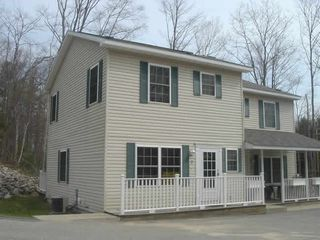 Condo from the outside. Unit 9 is on the left. - Petoskey condo vacation rental photo