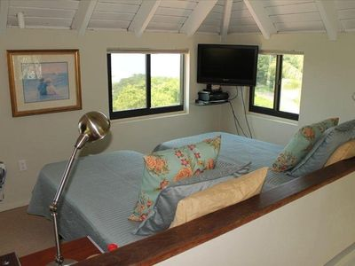 Bliss's Loft BR: great Caribbean Views & Flexible Bed Arrangement; 2 twins OR
