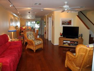 Key West townhome photo - Living Room