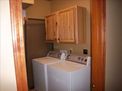 Full size Utility room on lower level.