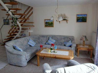 A cosy holiday home, well equipped with 2 TV-sets, one digital