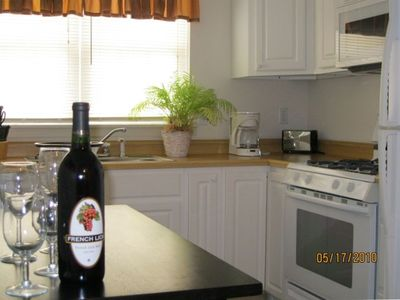 French Lick cottage rental - Full Kitchen Area