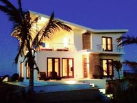 New Modern 'Green' Villa With Panoramic Views, Pool And Just Steps To The Beach