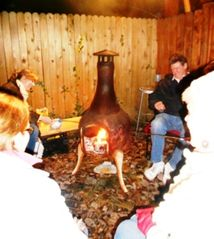 Annapolis cottage photo - Casual entertainment is easy with fire, friends & 'smores. A friendship circle.