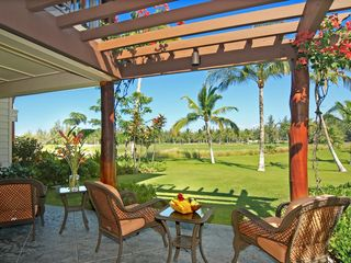 Waikoloa Beach Resort townhome photo - 3 Lanai's for outdoor living with beautiful golf course views.