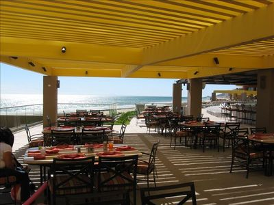 Puerto Penasco condo rental - Ocean Front Dining at Pool Bar Phase II