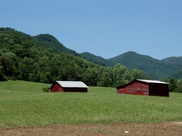 Family farm in Weaverville, NC
