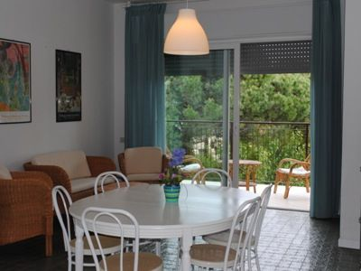 Elegant Three rooms in the pine wood, a few steps from the sea and from the center