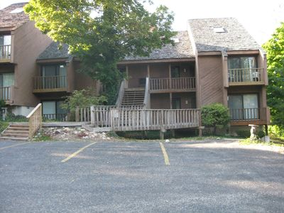 Front view of condo - lower left.