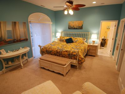 Spacious Master Suite, fit for a King or Queen