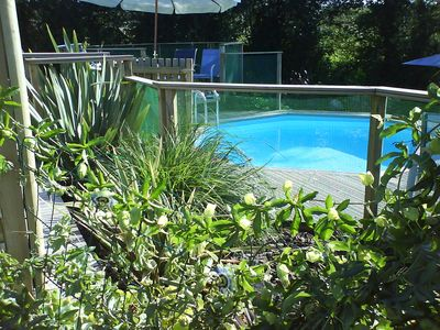 Luxury privately owned - renovated longuere with heated pool. Sleeps 6