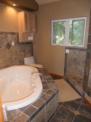 Whirlpool Tub with Walk in Shower! - Nederland lodge vacation rental photo