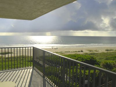 Direct Oceanfront, corner Unit, wrap-around balcony