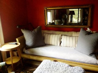 Rhinebeck house photo - Antique daybed from Maine with new foam mattresses doubles as a guest bed
