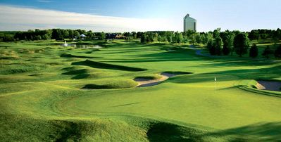 Got clubs? the Bear, 1 of 3 golf courses on property open to the public!