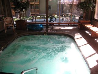 Mammoth Lakes condo photo - Large spa partially inclosed.