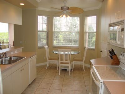 Kitchen with Nook Seating