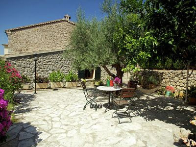 Holiday complex with pool just 200 meters walk through the pine forest, to the beach
