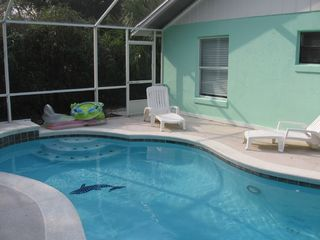 Ormond Beach house photo - Sparkling Pool & Jacuzzi