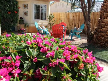 """Desert Hot Springs house rental - Calle Descanso means """"Restful Street"""", a perfect fit for this tranquil location"""