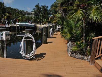 70 foot dock with Electricity, water, bumpers on each piling
