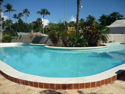 Las Terrenas condo rental - pool