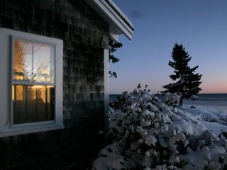 Clark Island cottage photo - Snow blanket