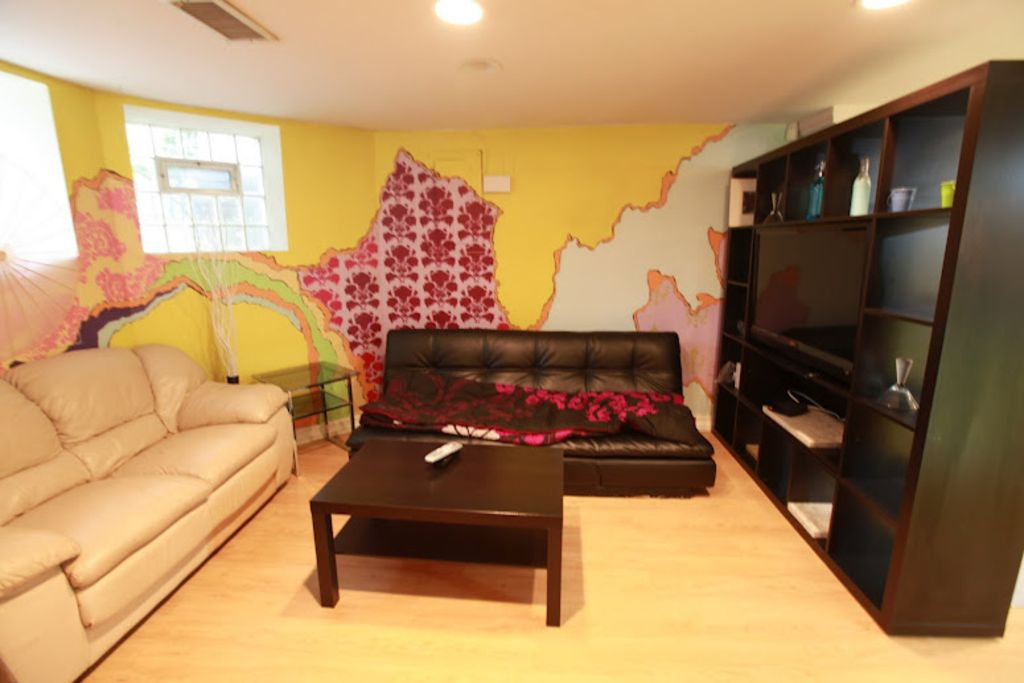 one bedroom english basement in the heart homeaway