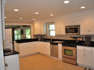 Osterville house photo - Large and inviting kitchen