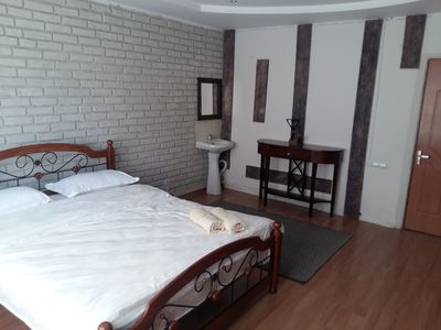 The cozy double room in hostel Kok-Tobe, Almaty