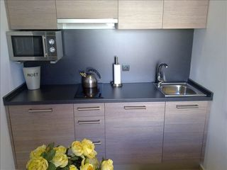 Centro - Plaza Catalunya apartment photo - Kitchenette
